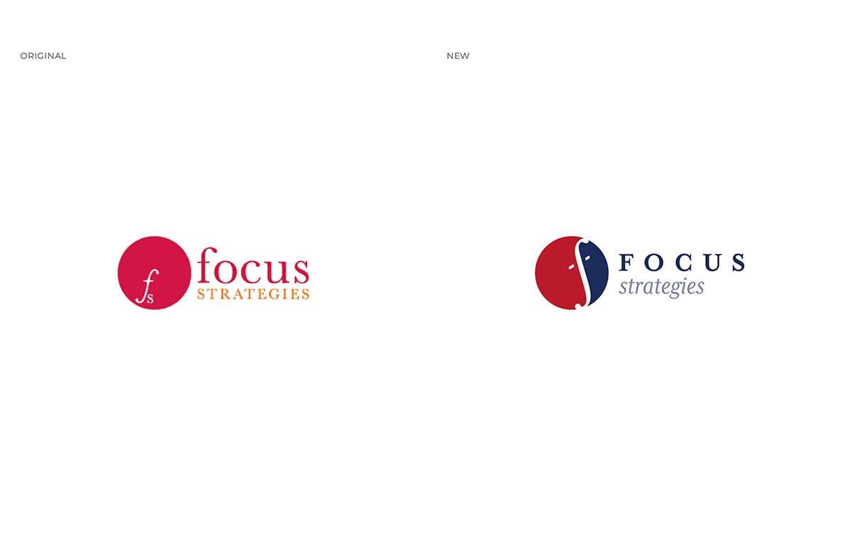 Thumbnail Focus Strategies Logo Case Study Comparison