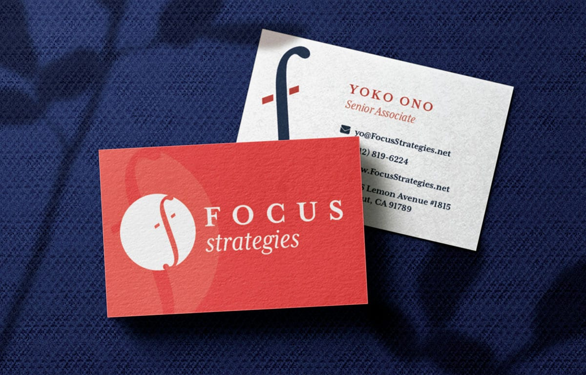 Focus Strategies – Logo Case Study portfolio thumbnail