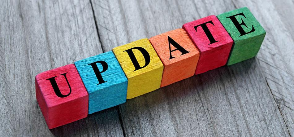 Colorful Blocks Spelling Update For Corona Virus