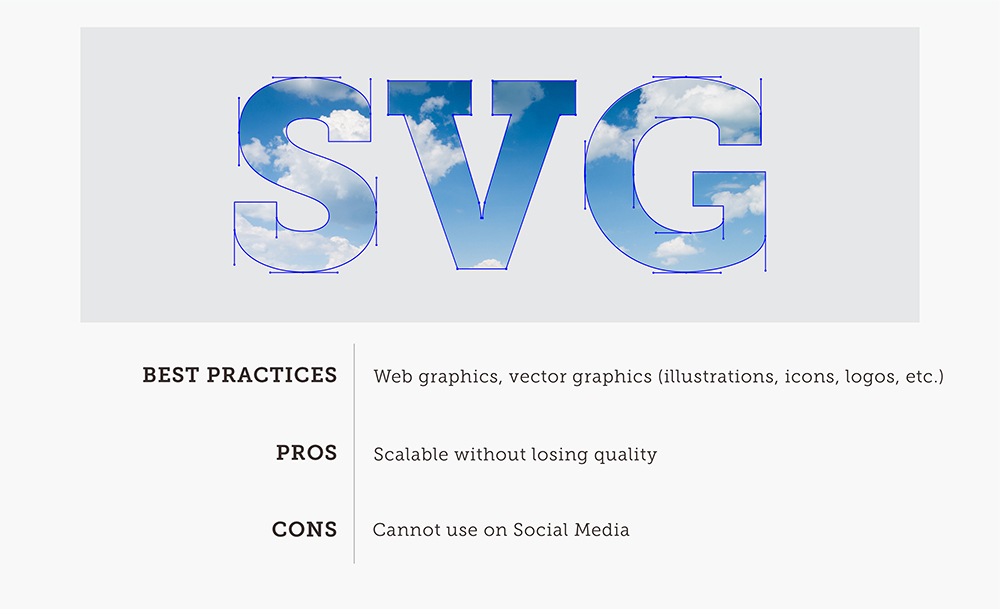 SVG Explanation Card With Best Practices Pros And Cons Great For Logos