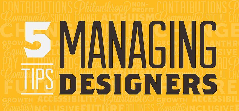 5 Tips For Managing A Design Team With Yellow Background