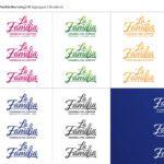 La Familia Five Logos On Top And Four Logos On Bottom