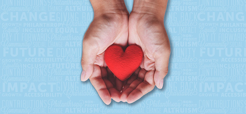 Hands Holding A Red Heart