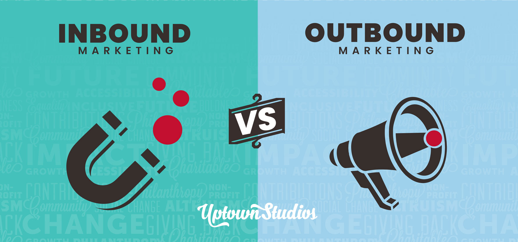 What does Inbound Marketing vs. Outbound Marketing Really Mean? Featured Image