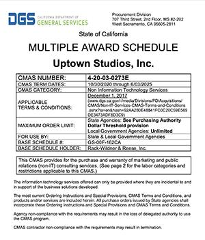 Multiple Award Schedule